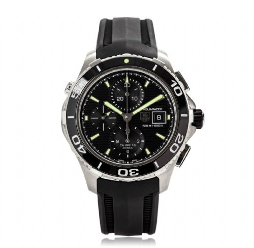 TAG HEUER Aquaracer Calibre 16 Automatic Chronograph Gents Watch CAK2111.FT8019